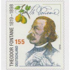 Briefmarke Theodor Fontane