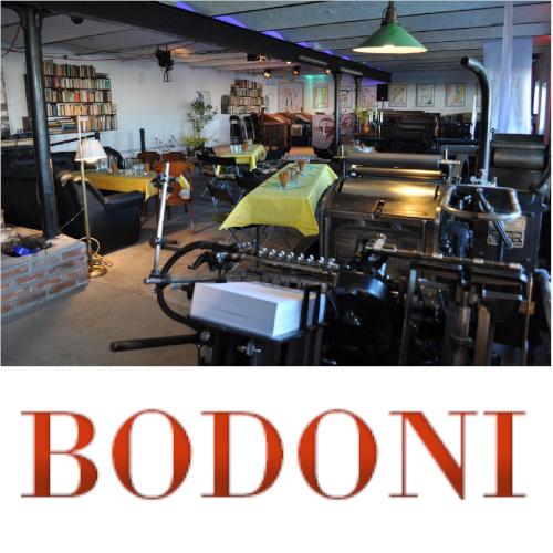 Bodoni Druckerei und Location